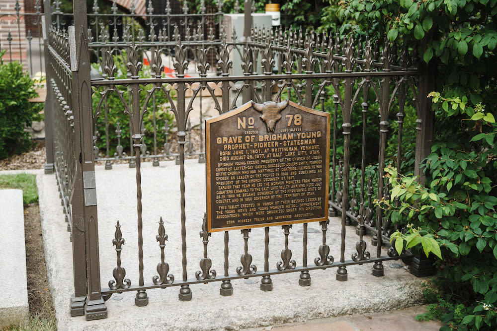 Brigham Young's Grave