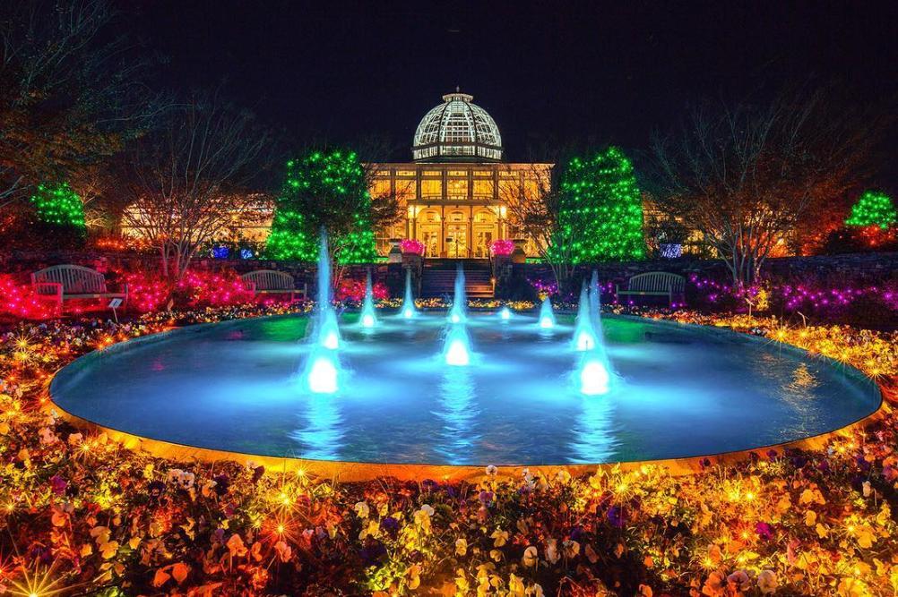 Lewis Ginter GardenFest of Lights