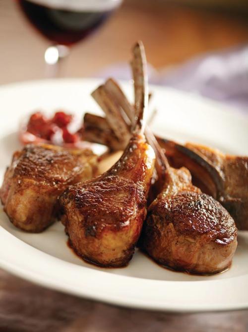 Lamb Chops at Capital Grille