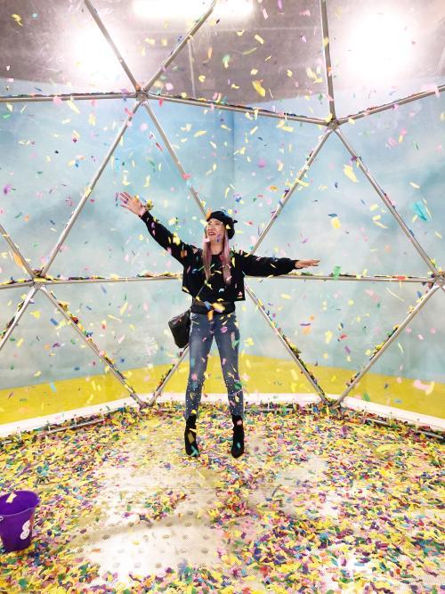 The Confetti Globe at Happy Room