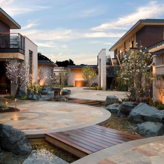 Bardessono Courtyard