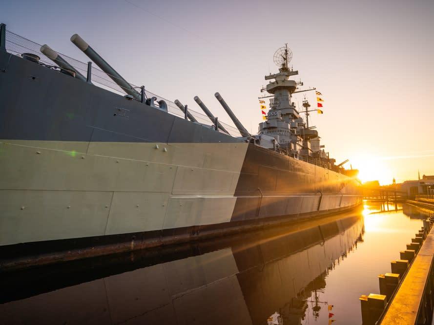 Battleship NORTH CAROLINA DRT