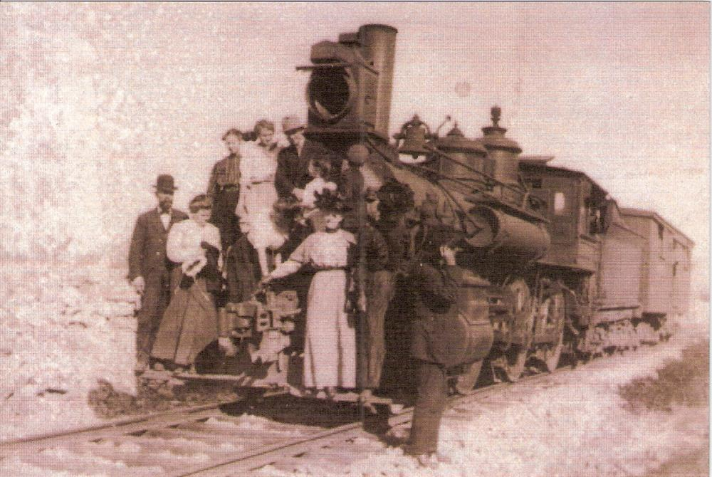 Early Frisco Train Image