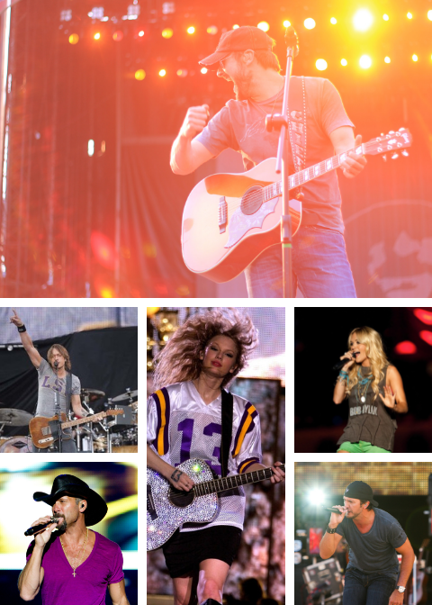 Bayou Country Superfest Lineup -Previous