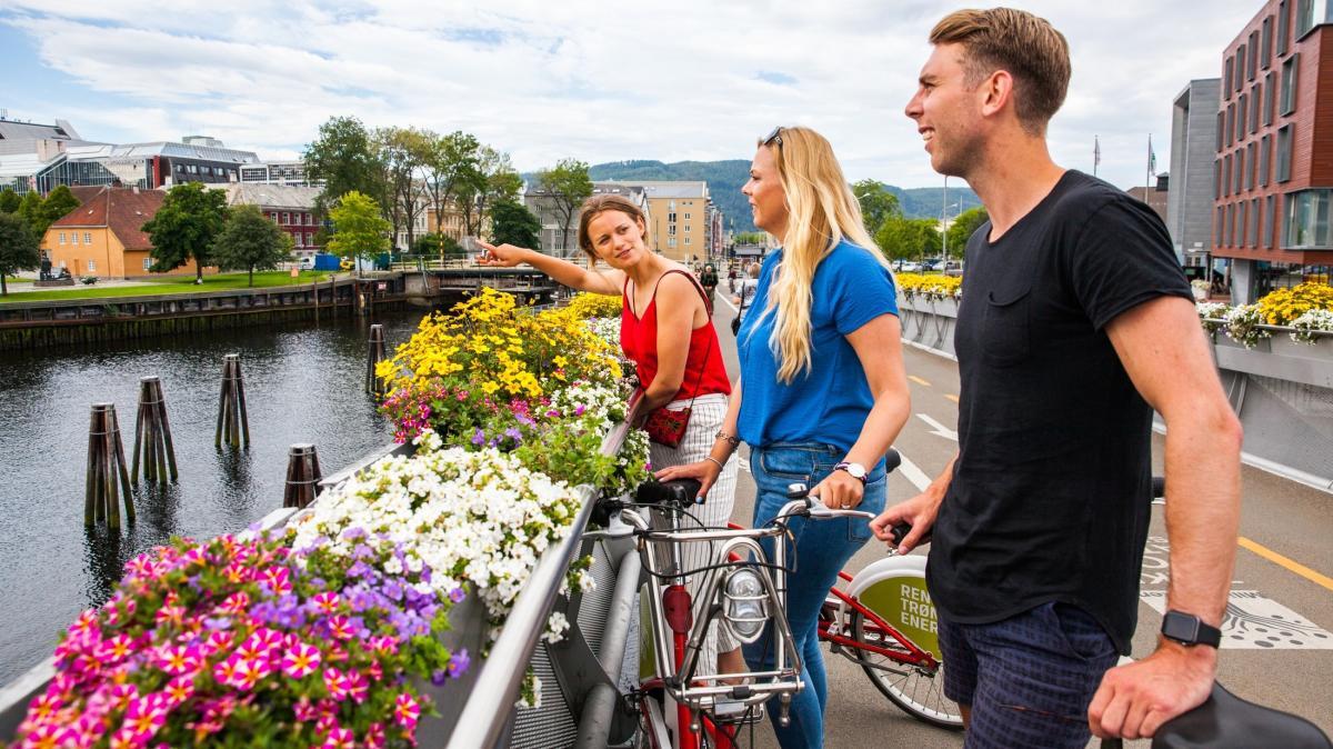 Bysykkel i Trondheim