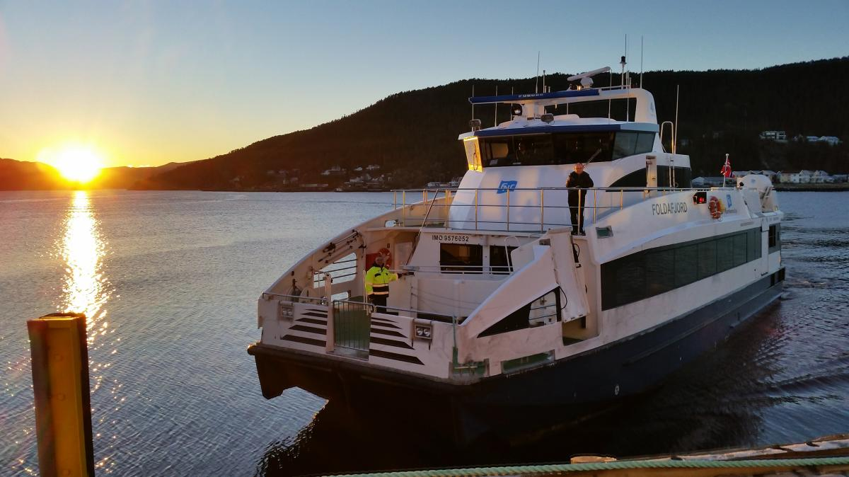 Hurtigbåten Foldafjord
