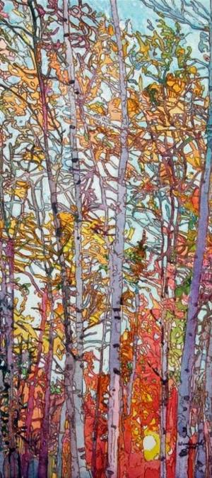 Kess Woodward Trees