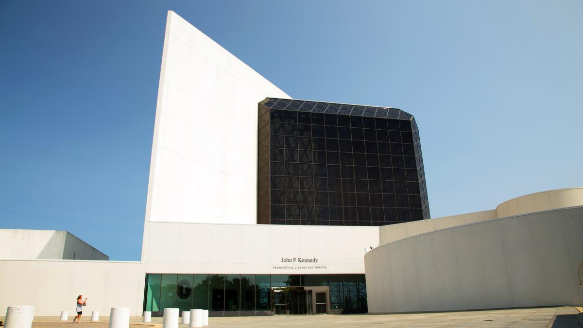 JFK Library View 2
