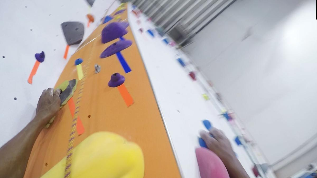 Race to the top at the Philadelphia Rock Gym in Oaks