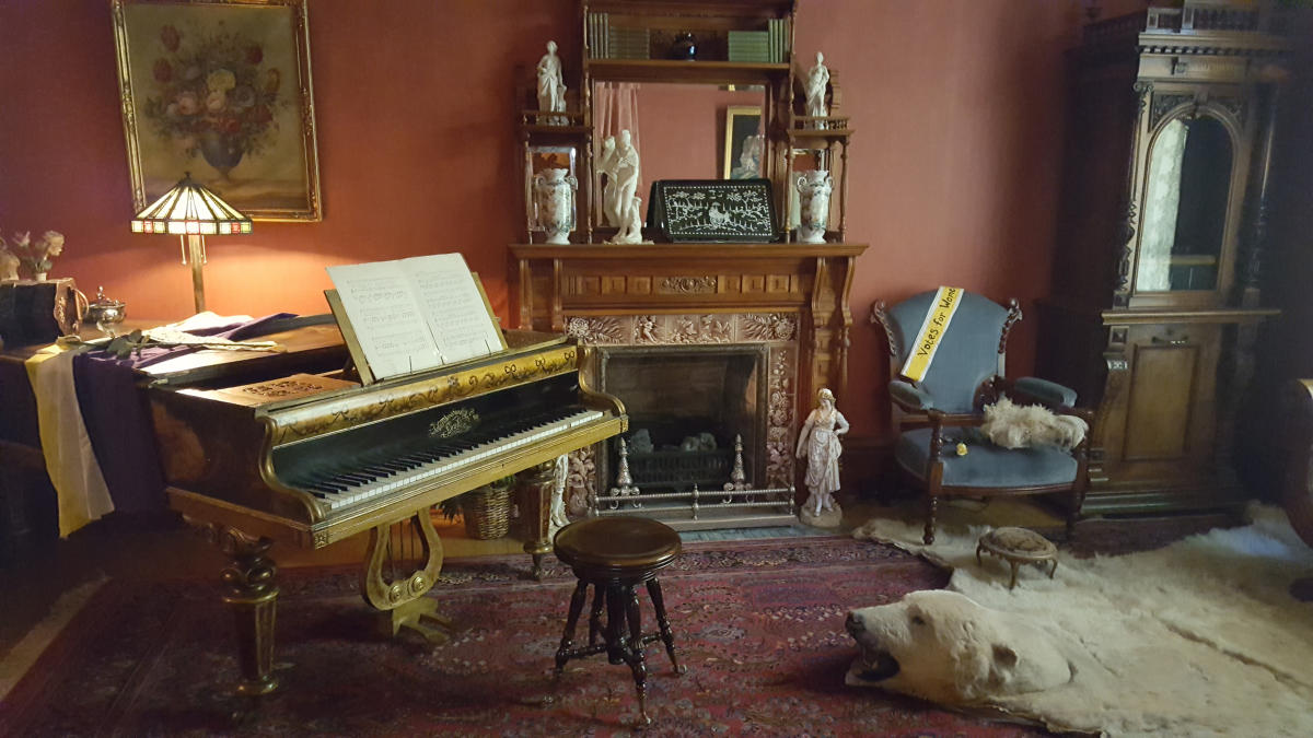 Molly Brown House interior