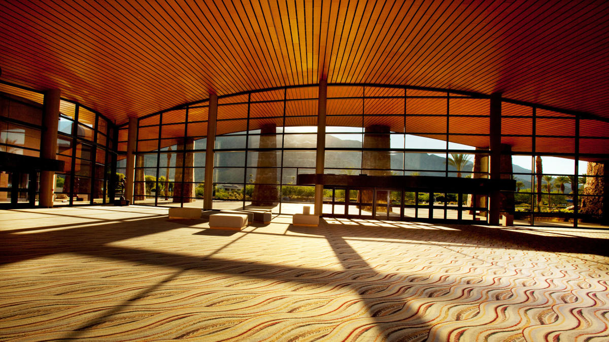 palm springs convention center lobby web