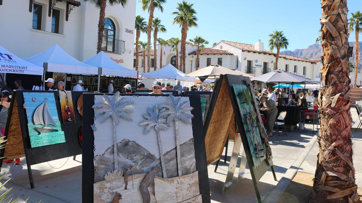 Art on Main Street in La Quinta