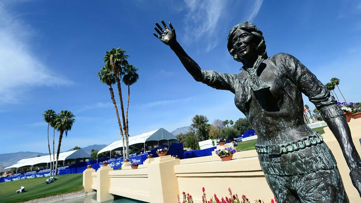 Dinah Statue at ANA Inspiration
