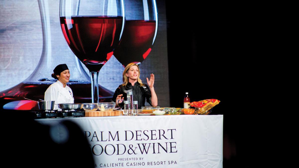 Food and Wine Palm Desert Chef Demo