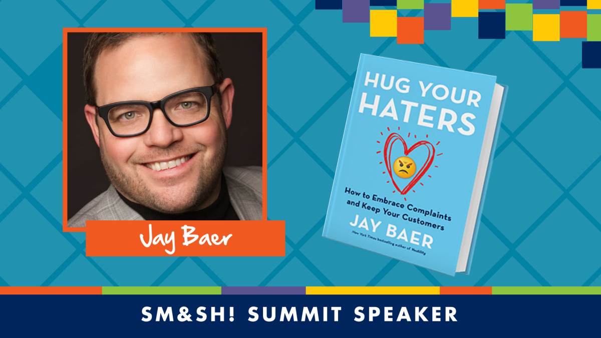 JAY BAER HUG YOUR HATERS TOPEKA KANSAS