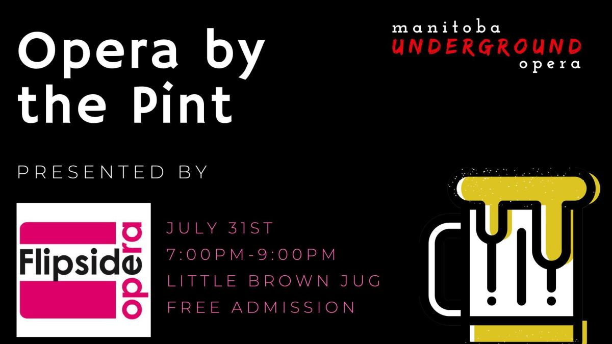 Manitoba Underground Opera‎ by the Pint