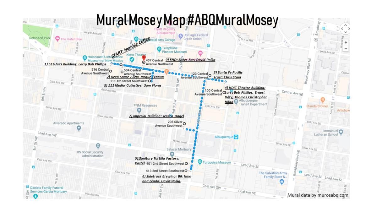 Mural Mosey Map