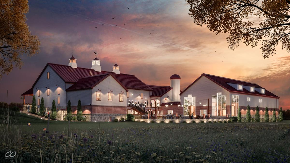 Englewood Barn Rendering for Rubber Soul Brewery