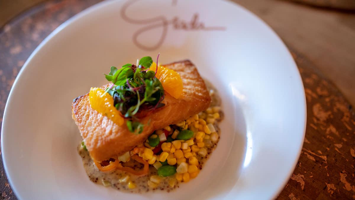 Salmon Dish at Giada