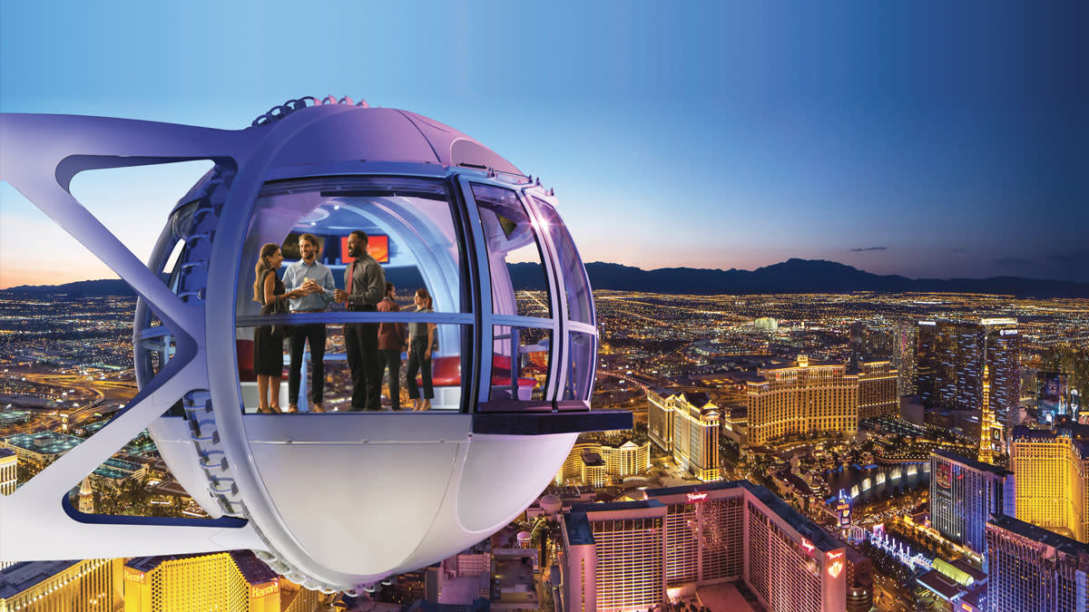 The LINQ High Roller Ferris Wheel