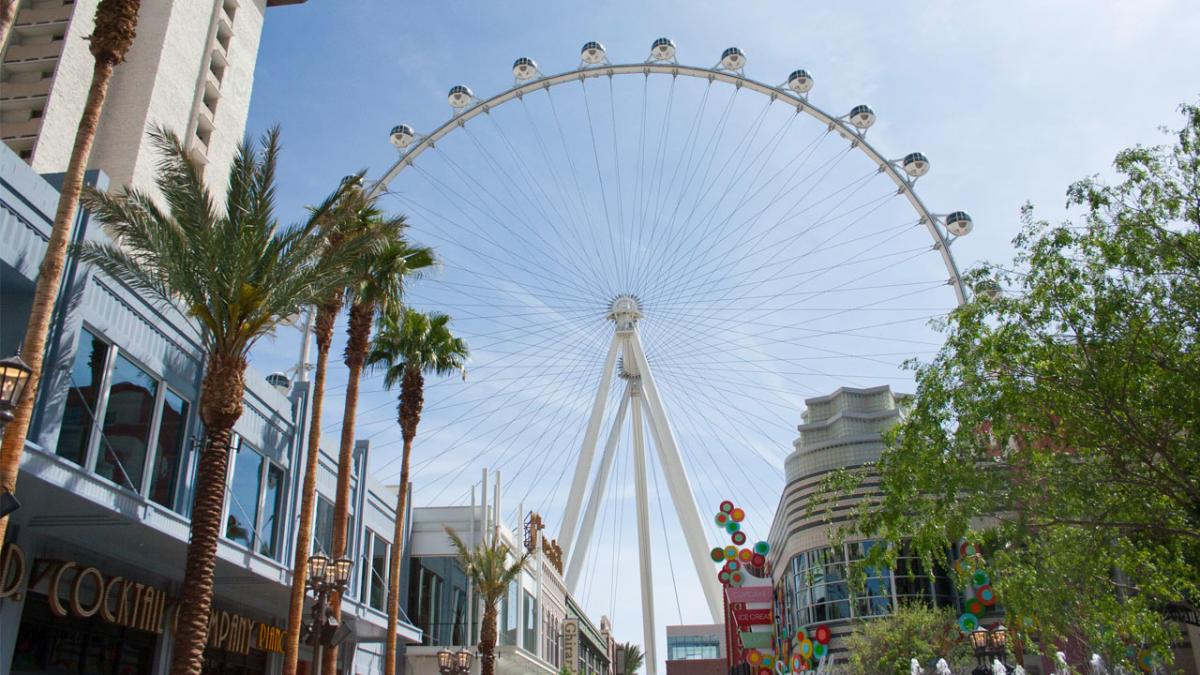 The LINQ High Roller Ferris Wheel