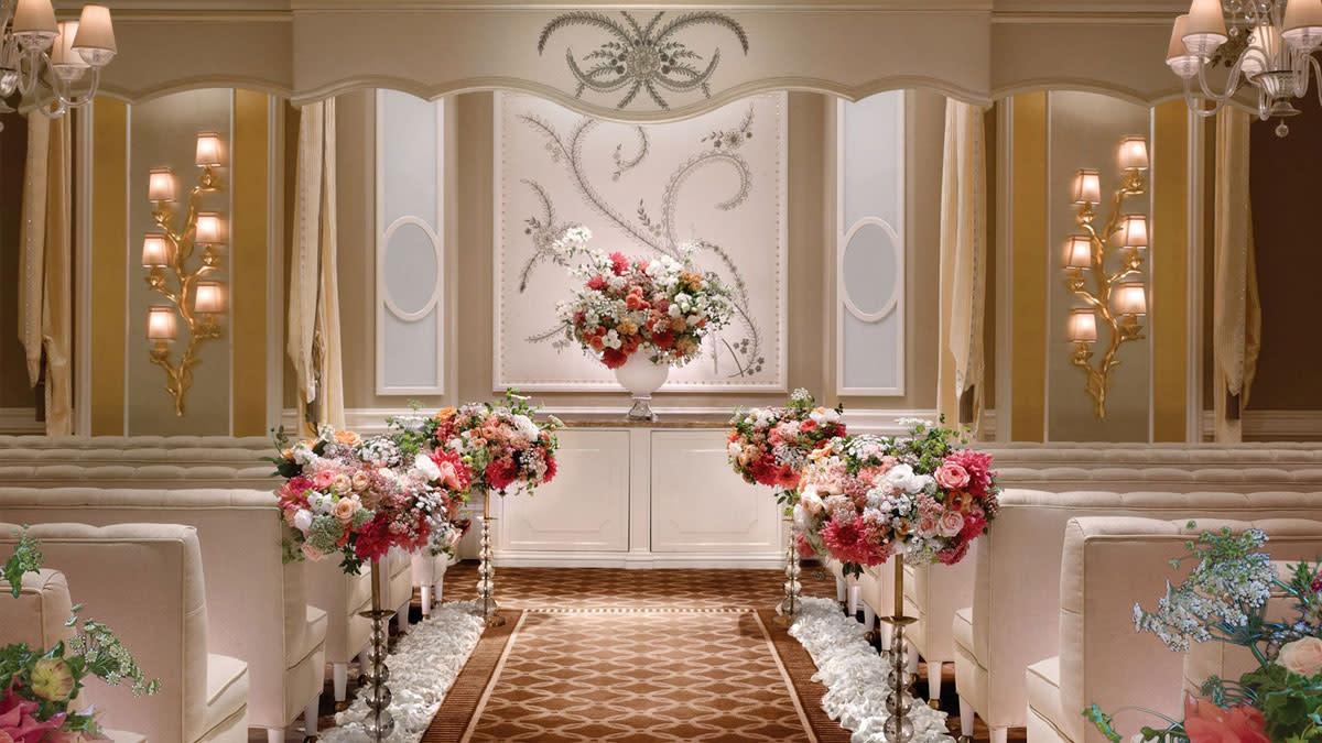 Lavender Salon Wedding
