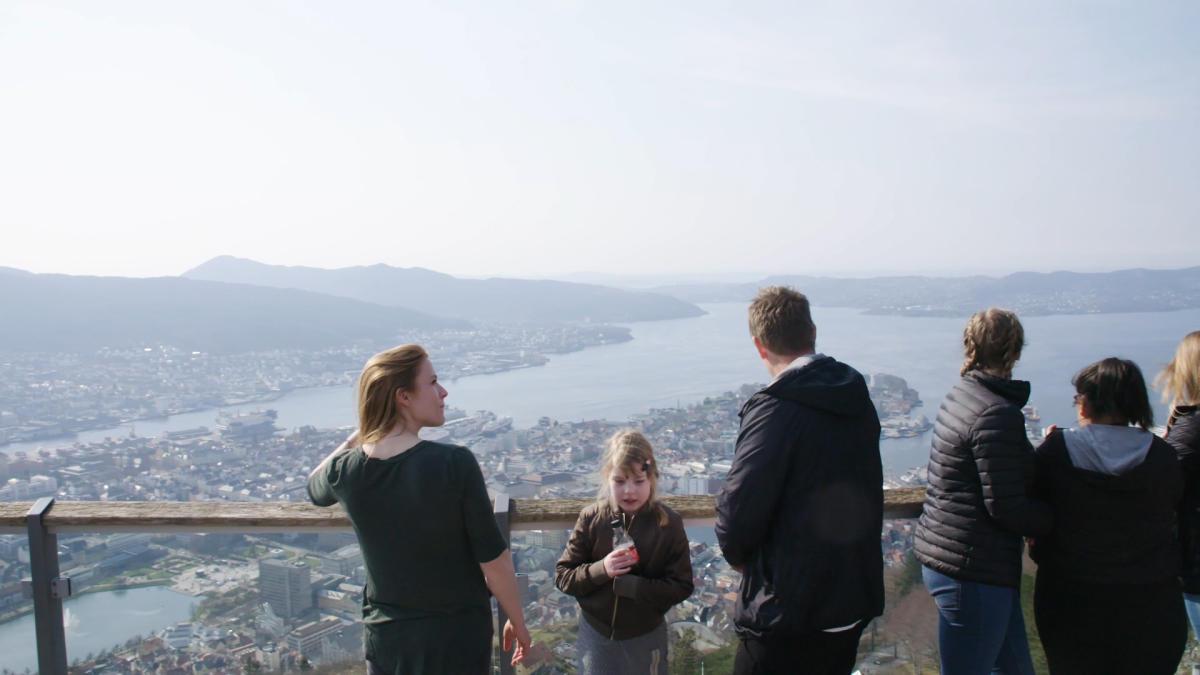 Fløibanen, Bergen