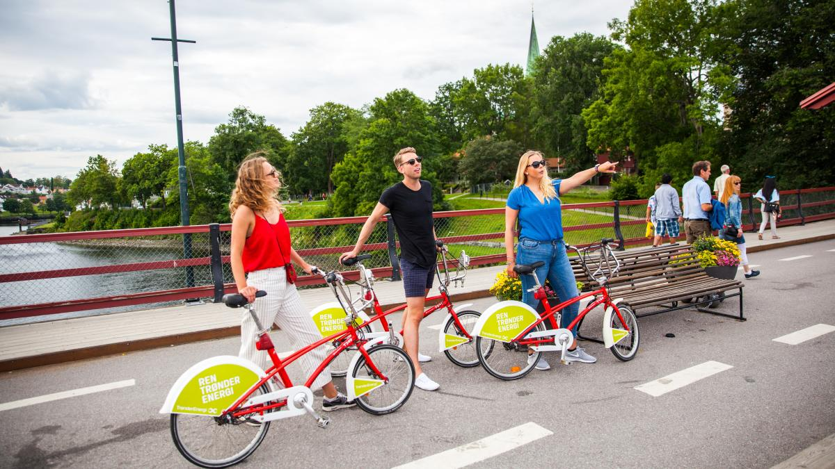 City bike in Trondheim