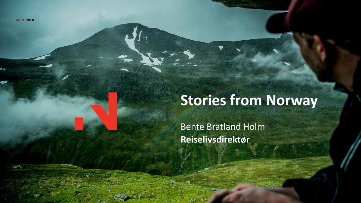 Kickoff reiseliv 2018 presentasjon Bente Bratland Holm