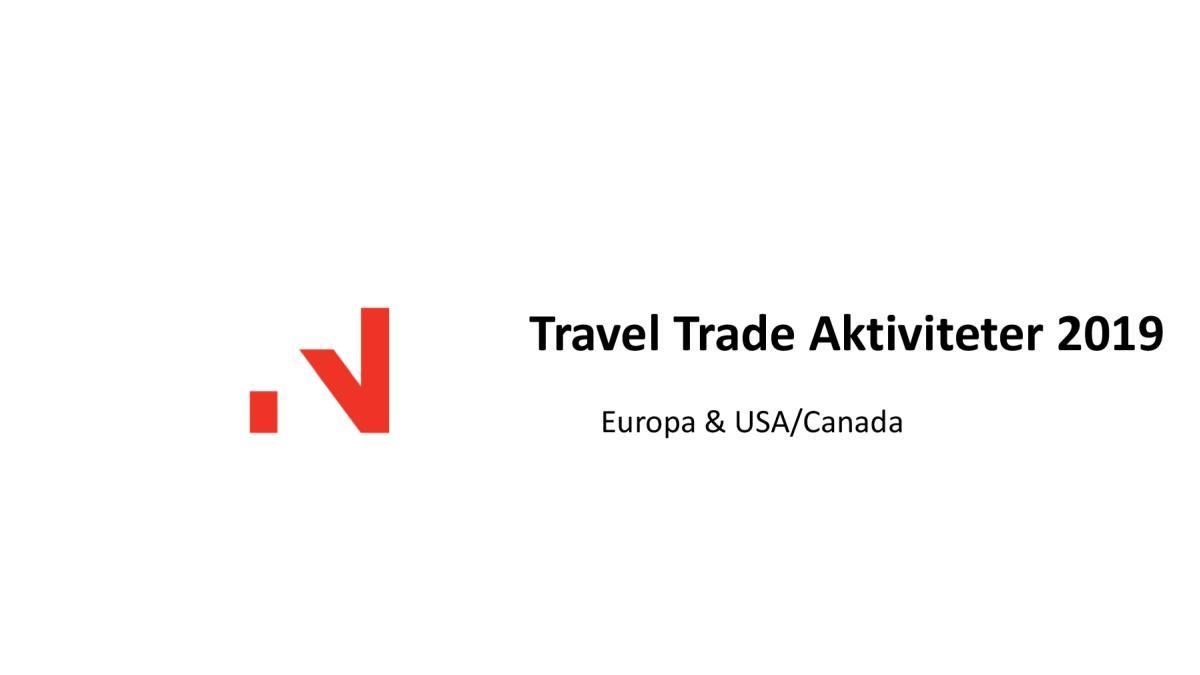 Travel trade aktiviteter B2B 2019