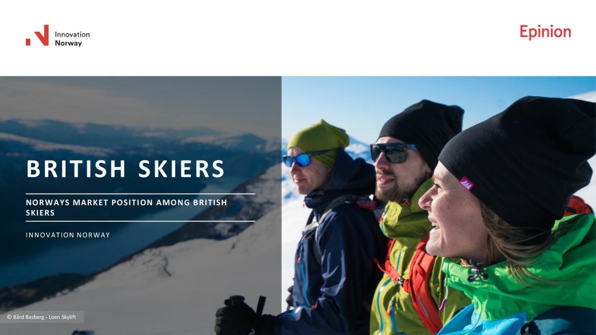 British Skiers posisjonerinsanalyse