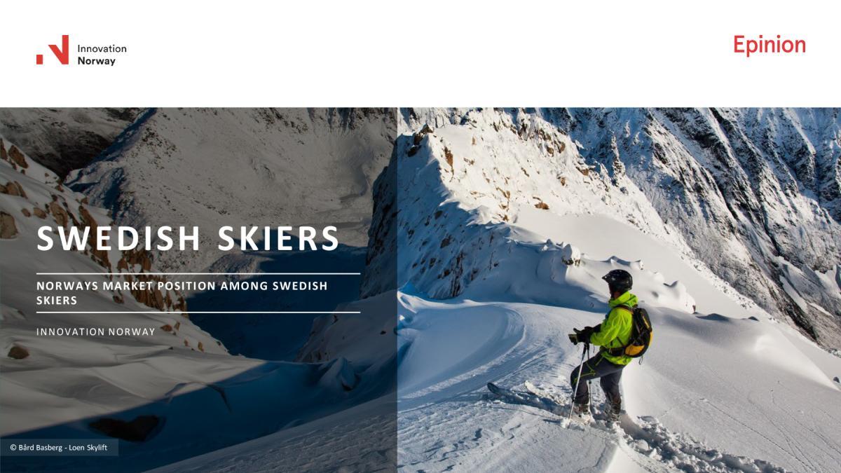 Swedish skiers