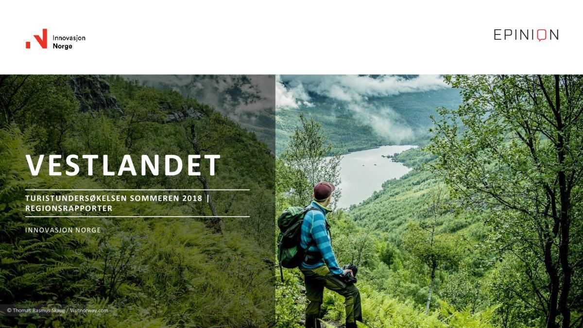TU regionrapport Vestlandet 2018