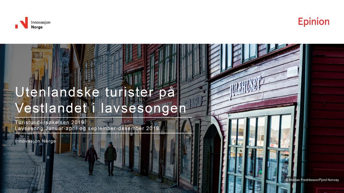 Turistundersøkelsen Go Viking 2019