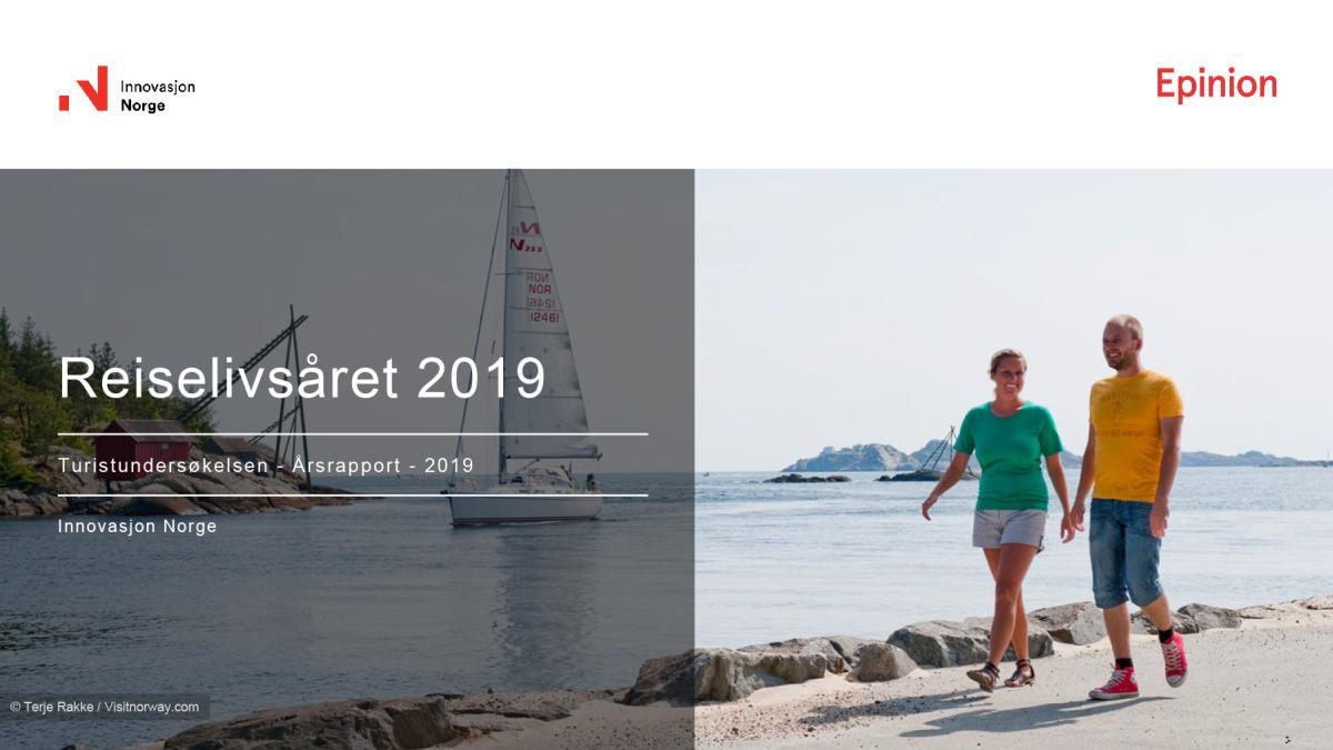 Turistundersøkelsen: Reiselivsåret 2019
