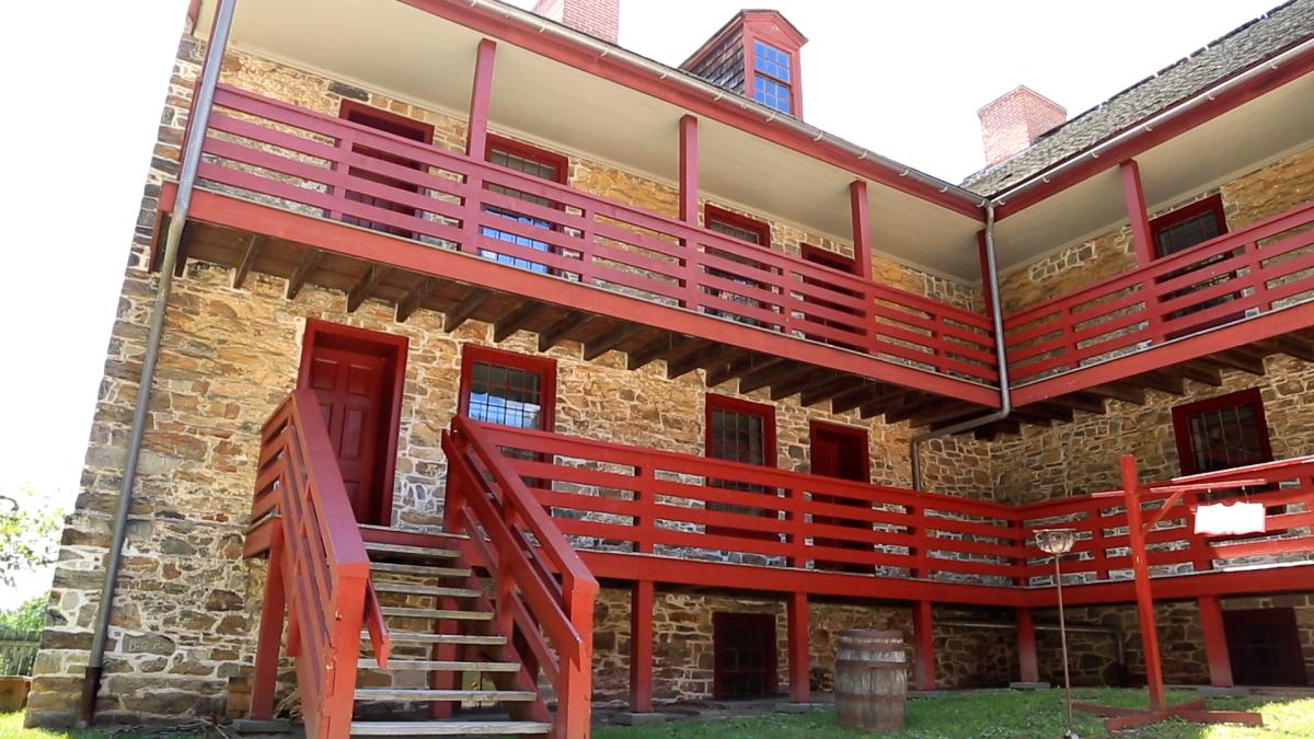 Old Barracks- porch