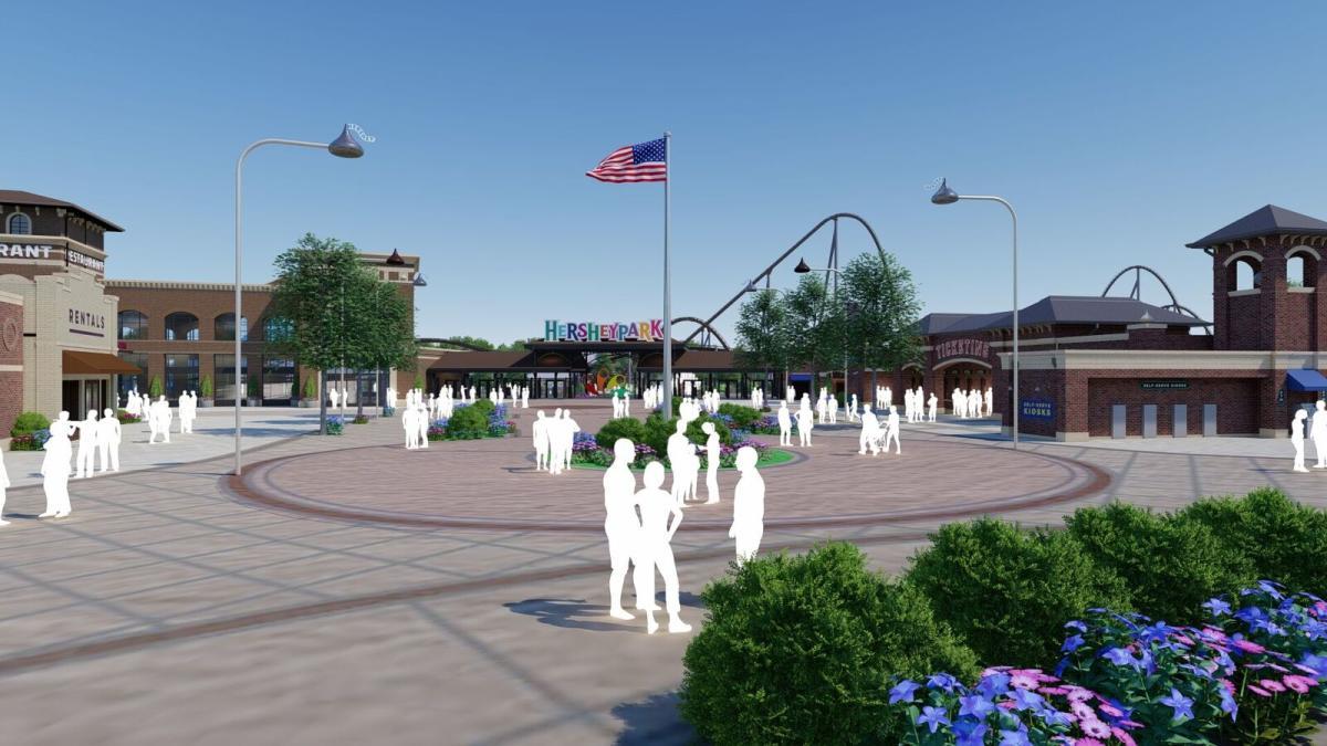 Chocolatetown Entrance Rendering 2020