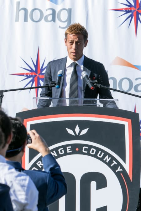 OC Soccer Club Keisuke Honda