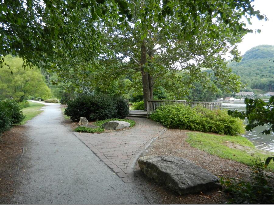 Morse Park overlooking Lake