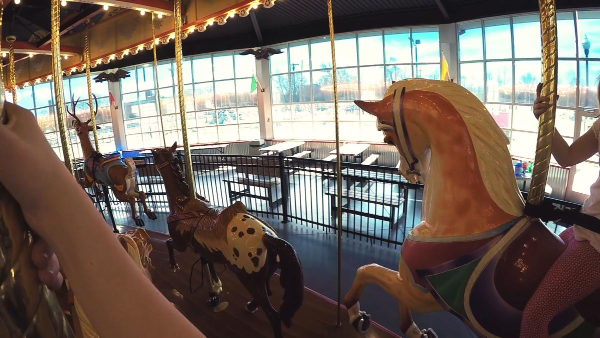 Take a spin around the historic Carousel at Pottstown