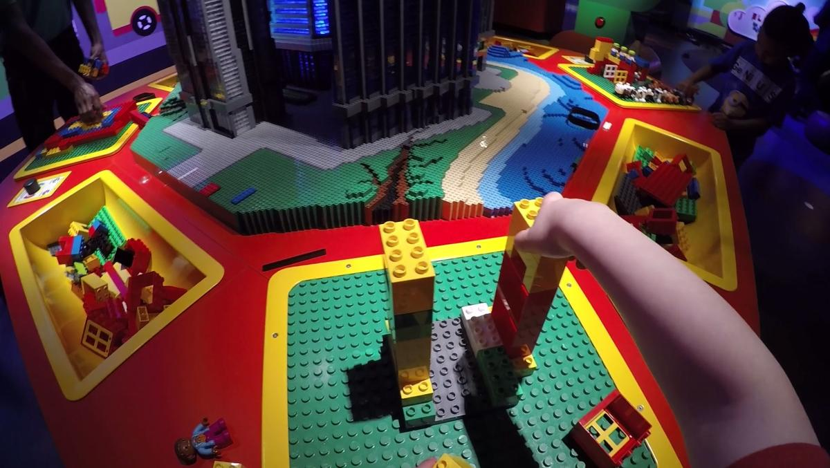 Build your own creations at the LEGOLAND Discovery Center in Plymouth Meeting