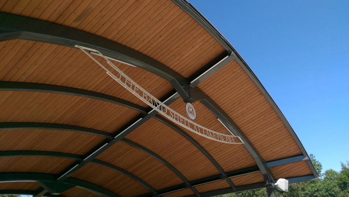 Plover Bandshell at Lake Pacawa Park will be a popular spot for music in central Wisconsin