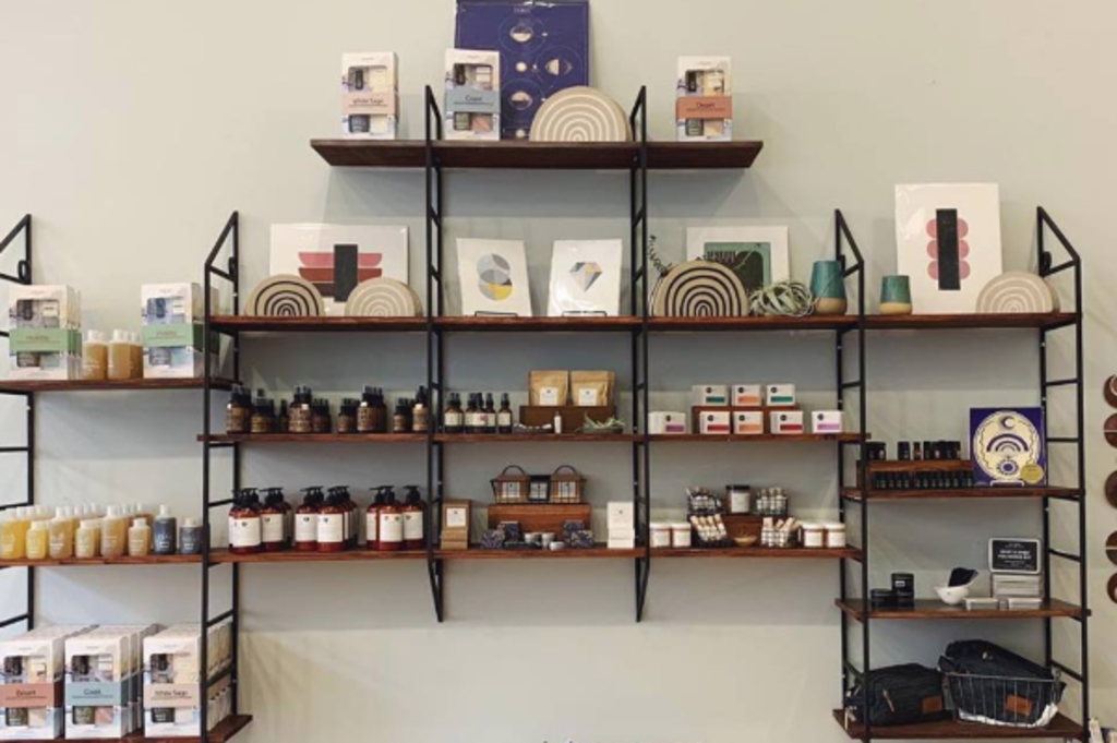 Marion and Rose's shelves