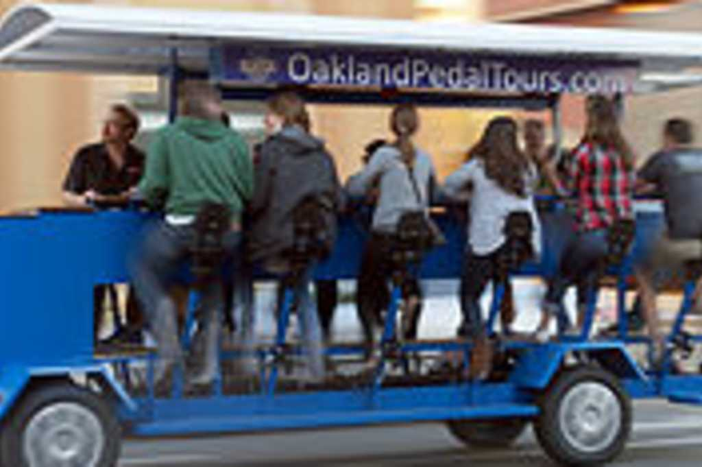 Oakland pedal tours