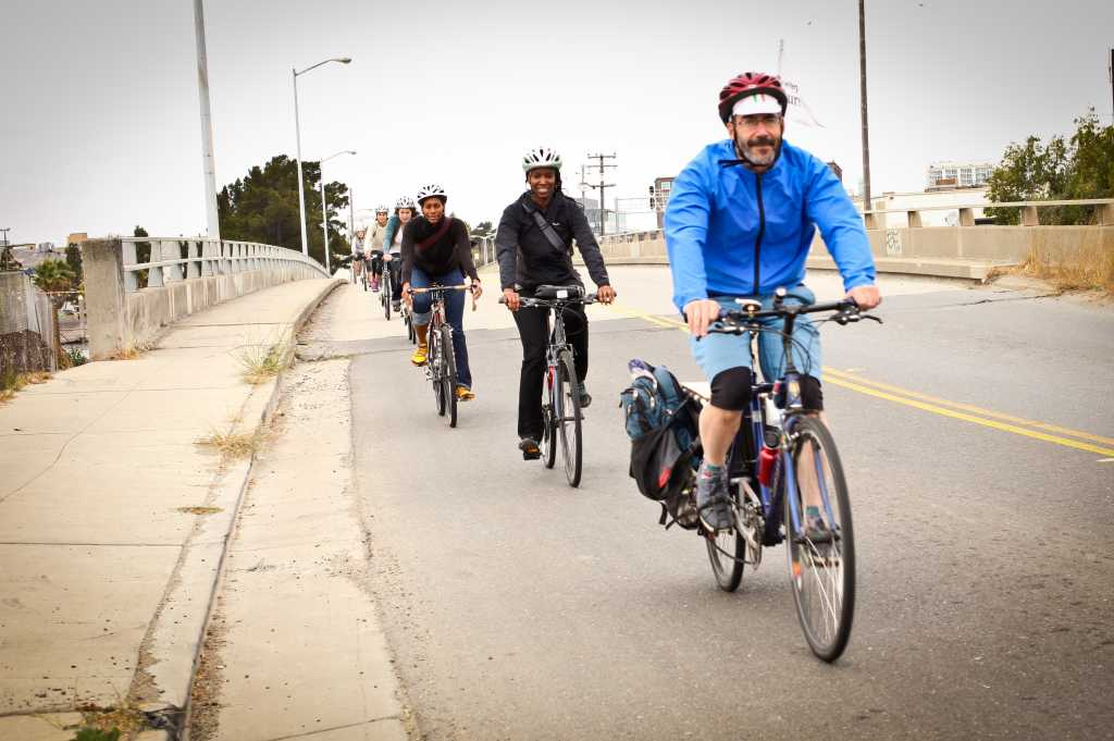 On tour along the Oakland Estuary