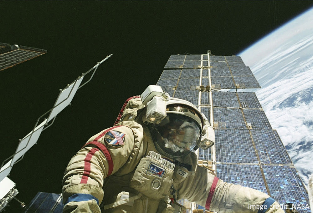 astronaut - space adventures blog post