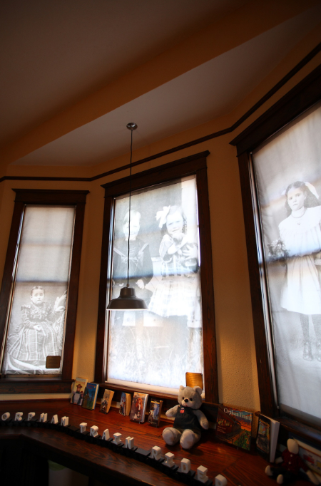 National Orphan Train Complex | Window Display - Concordia, Kansas