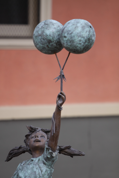 National Orphan Train Complex | Child Balloon Statue - Concordia, Kansas