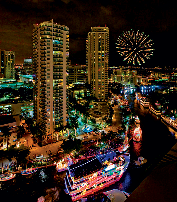The Seminole Hard Rock Winterfest Boat Parade is Fort Lauderdale's premier holiday event.