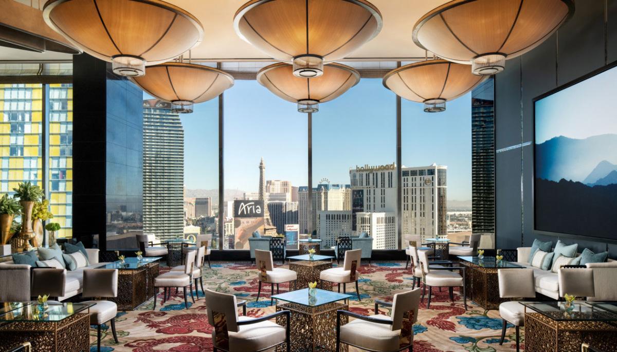 The Tea Lounge at the Waldorf Astoria Las Vegas